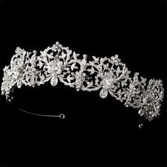 Enchanted Bridal Crown, Wedding Crown tiara It's tradition for Swedish brides to wear a crown Enchanted Bridal, Fairytale Bridal, Royal Tiaras, Tiaras And Crowns, Royal Crowns, Crown Royal, Bridal Crown, Bridal Tiara, Bridal Headbands