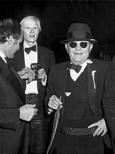 Andy Warhol and Truman Capote