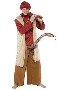 Snake Charmer Costume for Adults  sc 1 st  Pinterest : cheap halloween costume for men  - Germanpascual.Com