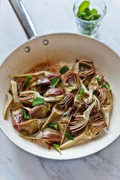 Braised Artichokes Venetian Style – Life Love Food