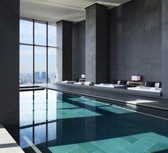 Aman Tokyo swimming pool