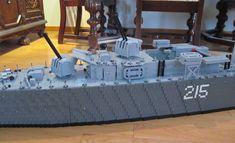 B gun is now mounted, next step is the bridge Lego Military, Lego Design, Bridge, Guns, Deck, Weapons Guns, Bridge Pattern, Front Porches, Bridges