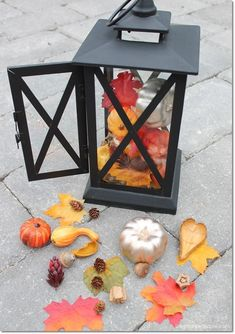 Simple DIY fall deco