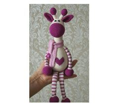 Amigurumi Örgü Zürafa Modeli Yapılışı ( Anlatımlı ) – Örgü, Örgü Modelleri, Örgü Örnekleri, Derya Baykal Örgüleri