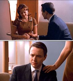 Peggy Olson + Pete Campbell: Well, one day you're there and then, all of a sudden there's less of you, and you wonder where that part went, if it's living somewhere outside of you. And you keep thinking maybe you'll get it back. And then you realize it's just gone. #madmen