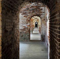 Fort Macon near Emerald Isle, NC