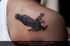 small eagle tattoo | tattoos religious tattoos script tattoos sports tattoos tribal tattoos ...