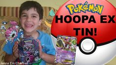 My Baby Brother Opens: #Pokemon Hoopa EX Powers Beyond Tin! Jenna Em Channel  WATCH: https://youtu.be/o-T2HZ3ilFE