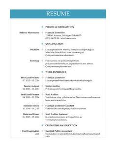 Circle Timeline   Free Resume Template By Hloom.com