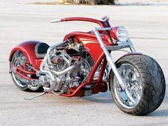 Twin Engine Custom Harley Davidson Motorcycles, Cars And Motorcycles, Custom Motorcycles, Custom Street Bikes, Custom Bikes, Ducati, Yamaha, Chopper Bike, Custom Choppers