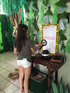 Magalie Sarnataro's props Jungle decor details  Jungle spy entrance game Jungle Safari, Spy, Entrance, Game, Decor, Entryway, Decoration, Door Entry, Gaming