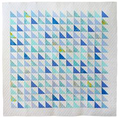 Love the half-square triangles :-)  @Darcy Fitzpatrick Fitzpatrick Fitzpatrick Fitzpatrick Fitzpatrick Childress this might be our scrappy quilt.