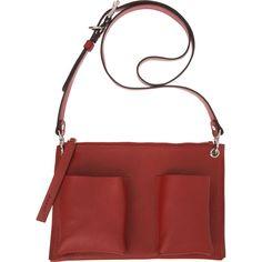 Soft luscious open bag. New 2012. MARNI  Bandoleer Grommet Bag
