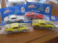 HOT WHEELS  1st  NATIONAL CONVENTION  4- 67 CAMAROS  VERY LIMITED