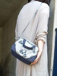 mini boston bag - free tutorial and pattern