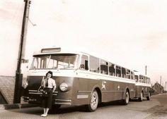 de RTM bus naar Rotterdam met aanhanger. Deze aanhangers stonden vaak geparkeerd in de remise van de Blaakse Dijk. Deze foto is genomen in Piershil zover ik weet