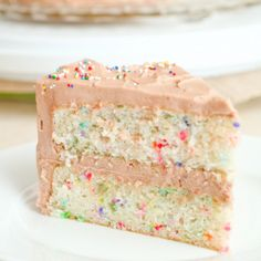 Would love this for a wedding cake love Funfetti!