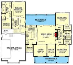 Budget Friendly Modern Farmhouse Plan with Bonus Room - 51762HZ 1st Floor Master Suite, Bonus Room, Butler Walk-in Pantry, CAD Available, Country, Craftsman, Farmhouse, Jack & Jill Bath, PDF, Traditional Architectural Designs