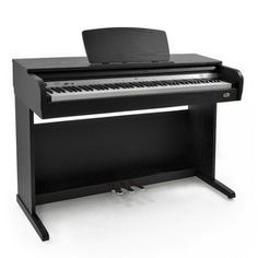The DP10 Digital Piano by Gear4music provides authentic acoustic piano touch and style with rich versatile tones and room for experimentation; a digital piano with an array of features that make it perfect for practice and performance. £379.99
