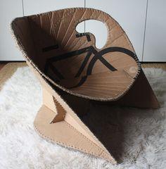 30 Realistic Cardboard Furniture Ideas 28