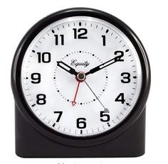 Equity by La Crosse 14080 Analog Night Vision Alarm Clock for sale online Analog Alarm Clock, Travel Alarm Clock, Digital Alarm Clock, Alarm Clocks, Led Wall Clock, Clocks For Sale, La Crosse, Large Clock, Night Vision