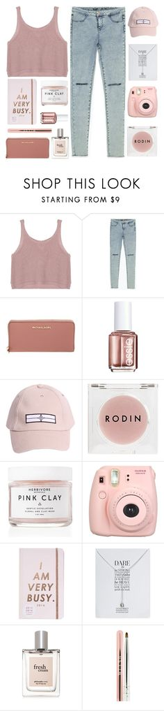 """""""❝only the birds know how high we go"""" by nsrogsy3 ❤ liked on Polyvore featuring Zara, MICHAEL Michael Kors, Essie, STONE ISLAND, Rodin Olio Lusso, Herbivore, Fujifilm, ban.do, Dogeared and philosophy"""