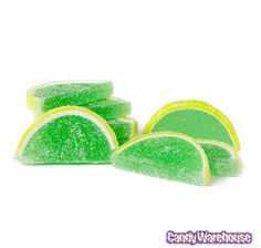 lemon lime slices - Candy Buffet