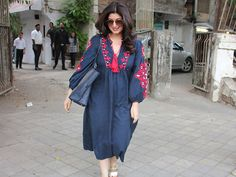 You'll want to get your hands on Twinkle Khanna's comfy Zara dress ASAP!