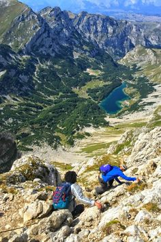 Summit the tallest mountain in Durmitor National Park, Montenegro -- Bobotov Kuk!