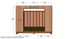 This step by step diy woodworking project is about shed plans. If you are a homeowner like me, you probably know how tough it is to organize all the tools, bicycles, skis and all other small toys we all want and have. 10x10 Shed Plans, Diy Shed Plans, Diy Storage Shed, Wood Storage Sheds, Woodworking Projects Diy, Woodworking Plans, Woodworking Machinery, Woodworking Classes, Diy Projects