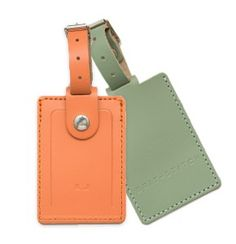 Leather Luggage Tag from Brit-Sttch