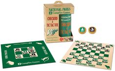 USAOPOLY National Parks Checkers and Tic Tac Toe Game - 2012