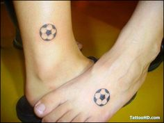 hmm...small & simple soccer tat? maybe. If so then I would put it on the inside of my heel, just below and behind the ankle bone.