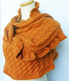 The Marrakech Shawl  Spring Summer Fall Winter by yarncoture, $325.00