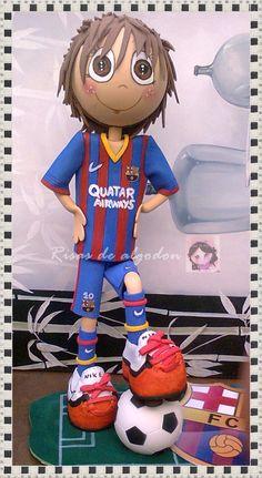 Fofucho futbolista. Barsa
