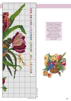 Gallery.ru / Фото #8 - корзины цветов из Point.de.Croix - Mosca