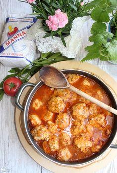 Pulpeciki z ryżem w sosie pomidorowym | Słodkie okruszki Ground Beef, Cooking Tips, Curry, Food And Drink, Ethnic Recipes, Foods, Diet, Chef Recipes, Food And Drinks