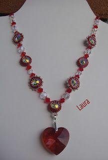 Di tutto un po'... bijoux, uncinetto, ricamo, maglia... ღ by tesselleelle ღ : Cuore rosso per San Valentino