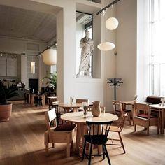 Restaurants, Café Restaurant, Gris Rose, Restaurant Interior Design, Cozy Place, Shop Interiors, Commercial Design, Decoration, Interior Decorating