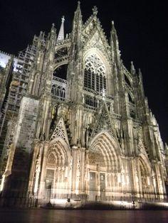 Cologne Church at Night // 2011