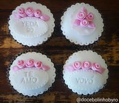Doce Bolinho by Ro: Cupcake das Rosas
