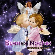 Buenas noches comunidad hermosa,estos angelitos cuidaron sus sueños. Besitos - Mabel Torres - Google+