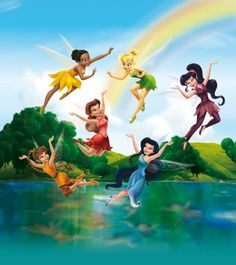Disney Fairies Spring Valley Wallpaper XL