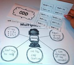 Blog post about teaching multiplication