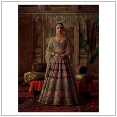 Sabyasachi Winter Bridal Collection 2019 Gives Us 4 Mesmerizing Trends! Indian Bridal Couture, Indian Bridal Outfits, Wedding Outfits, Wedding Dresses, Sabyasachi Collection, Lehenga Designs, Bridal Collection, Jewelry Collection, Urban Outfits