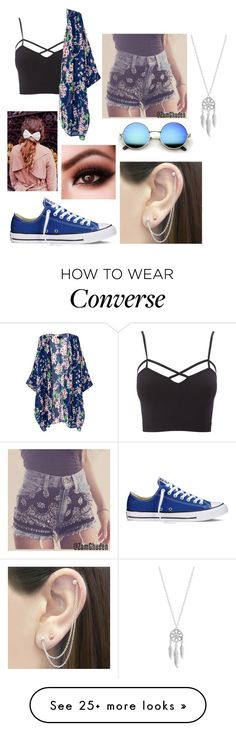 """""""Untitled #297"""" by paula2212 on Polyvore featuring Charlotte Russe, Converse, Otis Jaxon, Lucky Brand and Beauxoxo"""