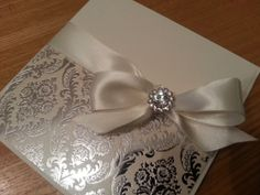 Luxury Handmade Personalised Pocketfold by CrystalCoutureinvite, £4.00