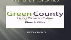 HIGHLIFE Green County - An unique residential layout that has been professionally planned by reputed and well experienced Architects and Civil Engineers, has been developed on over 2 million square feet of land with a scope to be extended to over another 2-3 million square feet of land. The lay out will be provided with ultra modern facilities and around the clock amenities that enhances comfortable living.