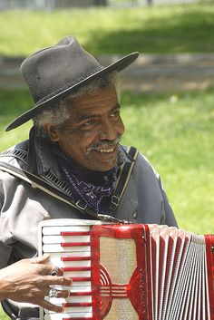 Blues New Orleans Style musician