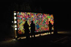 create art with light   Photo Journal: Art Installations and Interactive Spaces at Lightning ...